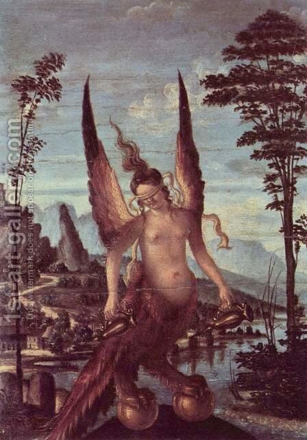 Virtue by Giovanni Bellini - Reproduction Oil Painting