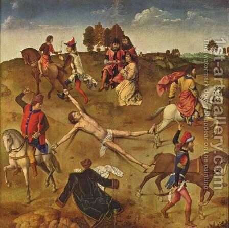 Martyrdom of St. Hippolytus by Dieric the Elder Bouts - Reproduction Oil Painting
