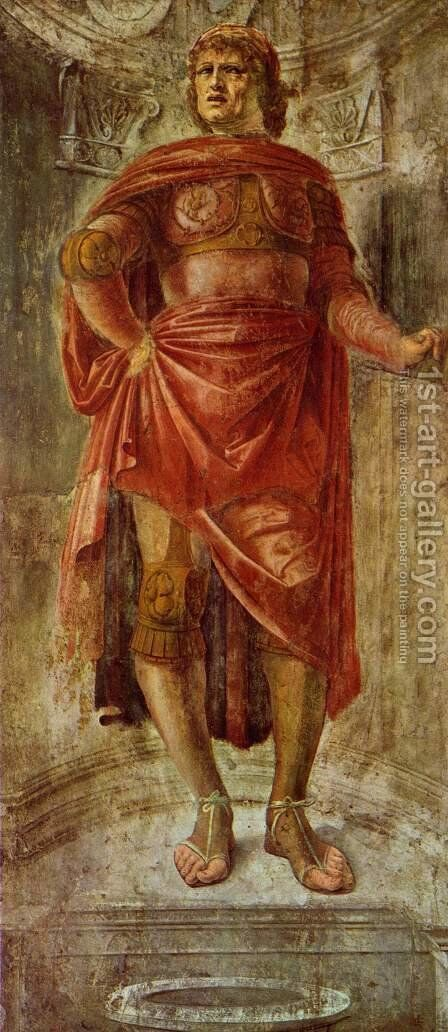 Ancient Hero by Donato Bramante - Reproduction Oil Painting