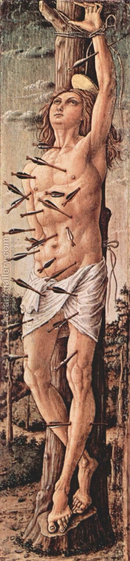 Saint Sebastian by Carlo Crivelli - Reproduction Oil Painting