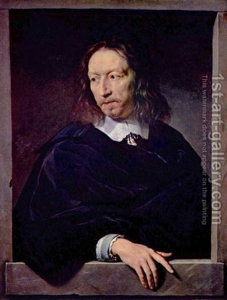 Portrait of Arnauld d'Andilly by Philippe de Champaigne - Reproduction Oil Painting