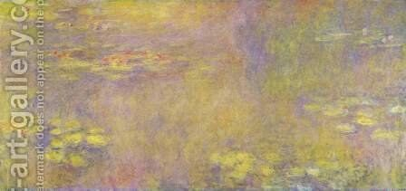 Water lilies ('Yellow Nirvana') by Claude Oscar Monet - Reproduction Oil Painting