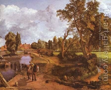 The house of the admiral in Hampstead by John Constable - Reproduction Oil Painting