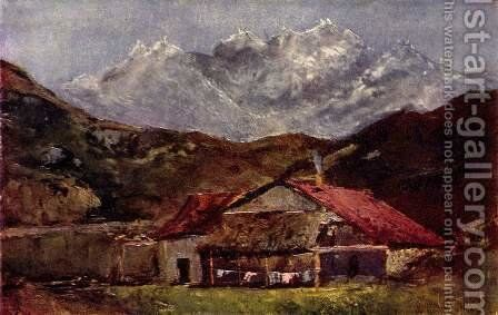 The refuge by Gustave Courbet - Reproduction Oil Painting
