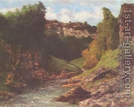 Balancing rocks by Gustave Courbet - Reproduction Oil Painting