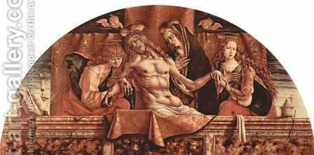 Pieta 4 by Carlo Crivelli - Reproduction Oil Painting