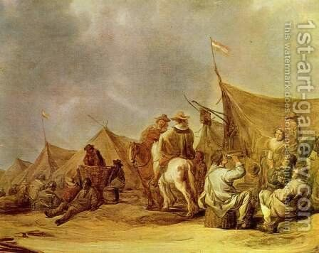 Break camp by Aelbert Cuyp - Reproduction Oil Painting