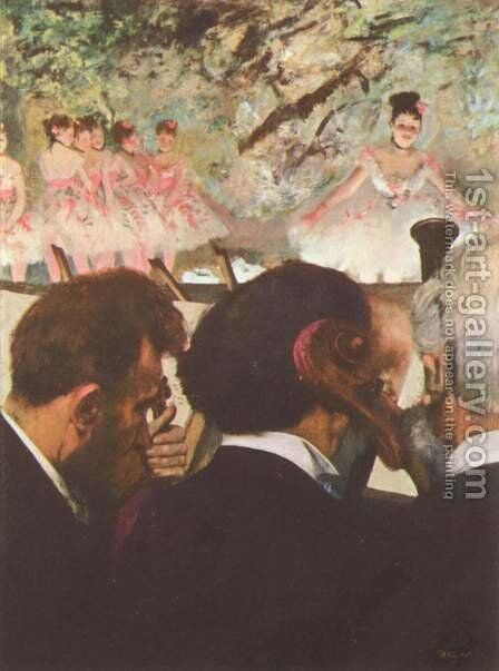 The ballet by Edgar Degas - Reproduction Oil Painting