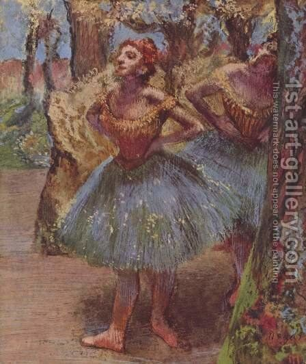 Dancers 2 by Edgar Degas - Reproduction Oil Painting