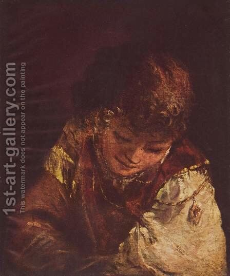 Young man by Aert De Gelder - Reproduction Oil Painting