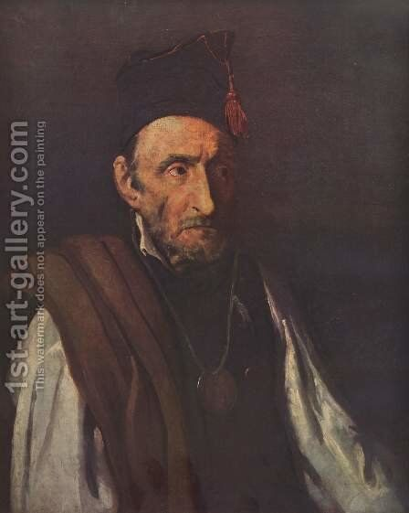The insane by Theodore Gericault - Reproduction Oil Painting