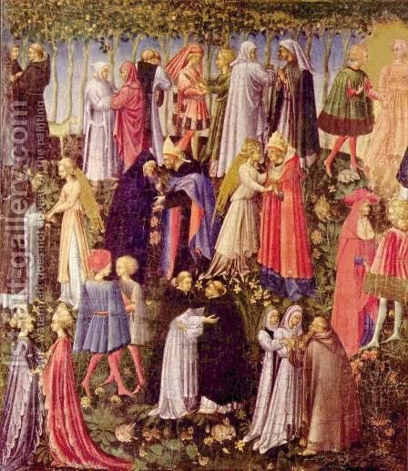 Paradise by Giovanni di Paolo - Reproduction Oil Painting