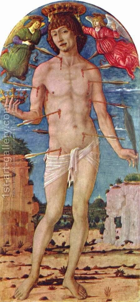 St. Sebastian by Matteo Di Giovanni - Reproduction Oil Painting