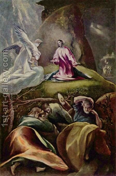Christ on the Mount of Olives by El Greco - Reproduction Oil Painting