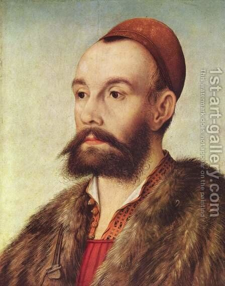 Portrait of Anton Fugger by Hans Maler - Reproduction Oil Painting