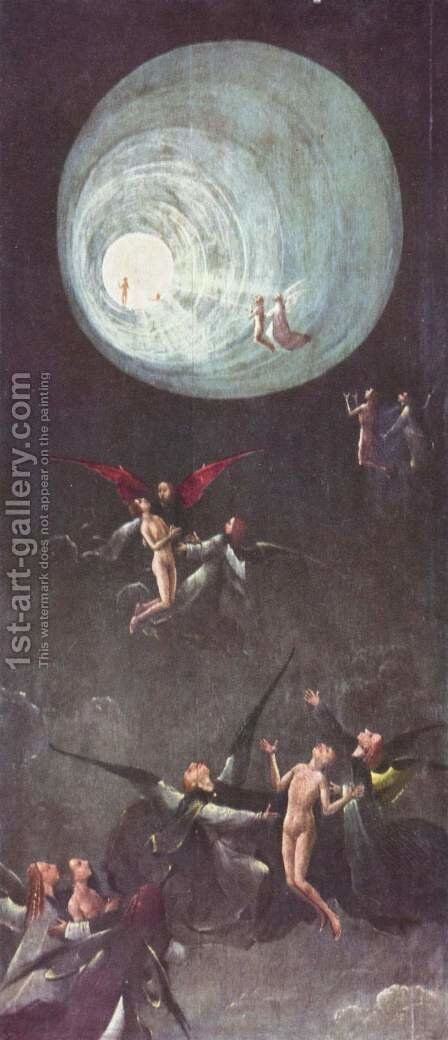The flight to heaven by Hieronymous Bosch - Reproduction Oil Painting
