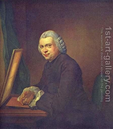 Portrait of Cornelis van Amstel Ploos by Jacobus Buys - Reproduction Oil Painting