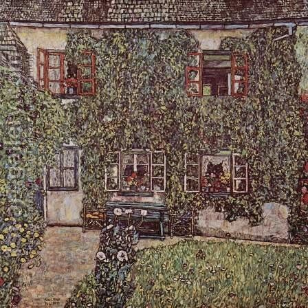 The House of Guardaboschi by Gustav Klimt - Reproduction Oil Painting