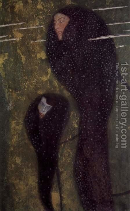 The sirens by Gustav Klimt - Reproduction Oil Painting