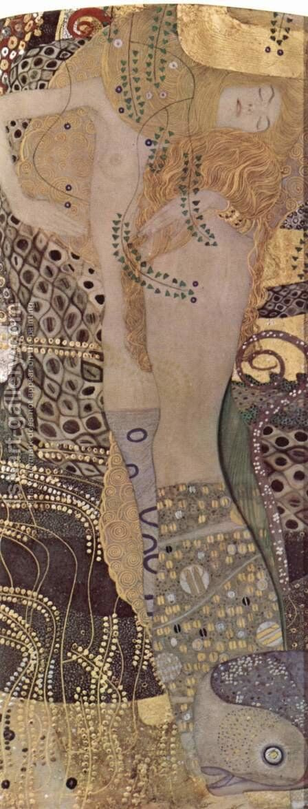 The Hydra by Gustav Klimt - Reproduction Oil Painting