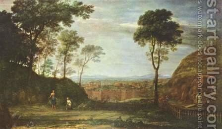 Easter morning by Claude Lorrain (Gellee) - Reproduction Oil Painting