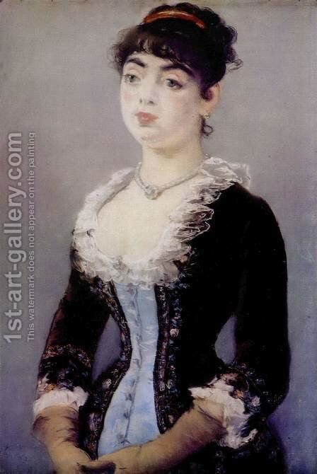Portrait of Madame Michel-Levy by Edouard Manet - Reproduction Oil Painting
