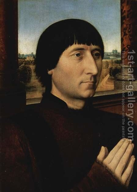 Portrait of Willem Moreel by Hans Memling - Reproduction Oil Painting