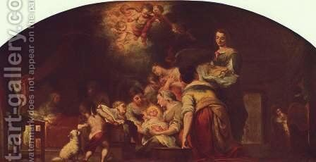 Nativity of Mary by Bartolome Esteban Murillo - Reproduction Oil Painting