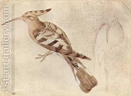 Bird by Antonio Pisano (Pisanello) - Reproduction Oil Painting