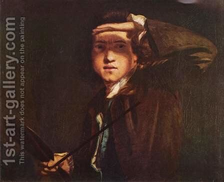 Self Portrait 2 by Sir Joshua Reynolds - Reproduction Oil Painting