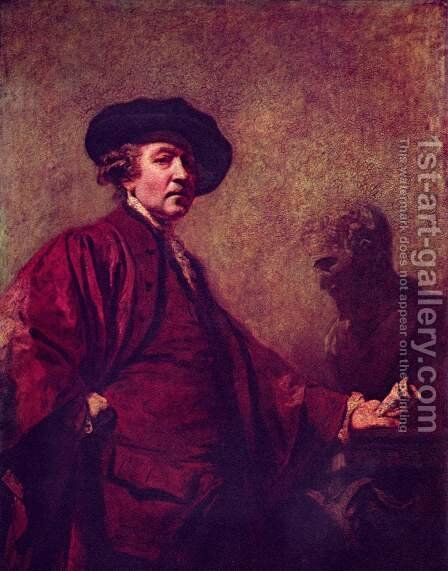 Self Portrait 3 by Sir Joshua Reynolds - Reproduction Oil Painting