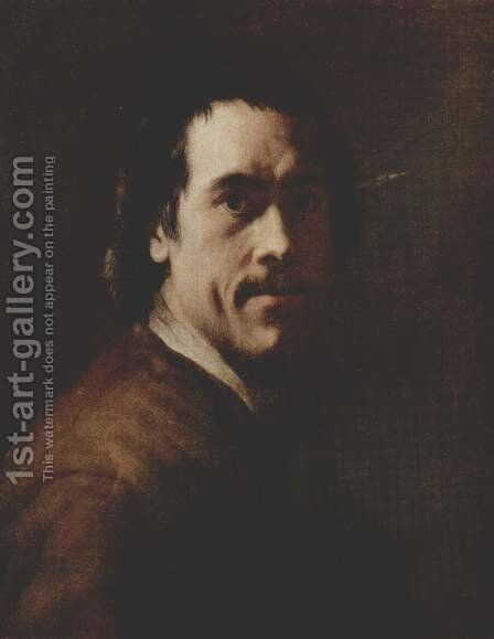 Self Portrait by Christian Seybold - Reproduction Oil Painting