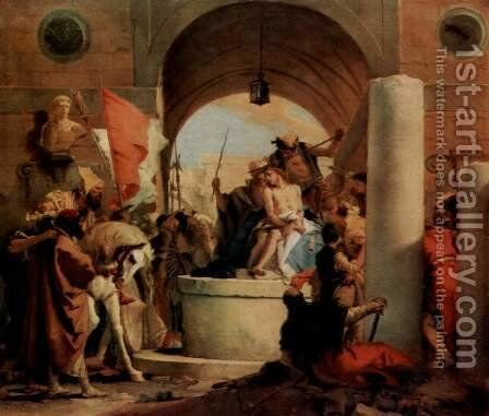 Crown of thorns by Giovanni Battista Tiepolo - Reproduction Oil Painting