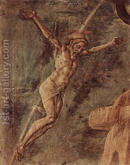 Crucified Christ by Cosme Tura - Reproduction Oil Painting