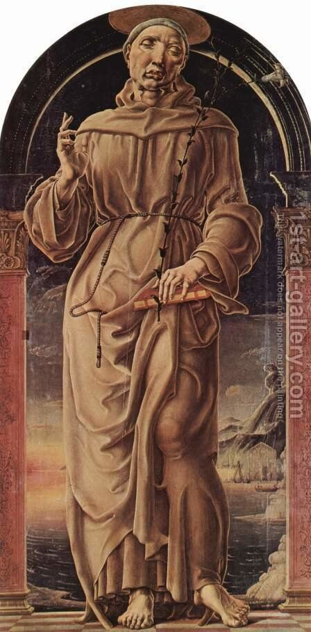 St. Anthony of Padua by Cosme Tura - Reproduction Oil Painting
