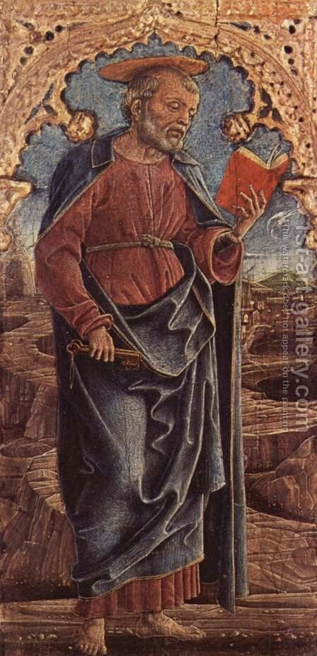 St. Peter by Cosme Tura - Reproduction Oil Painting
