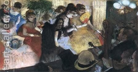 Cabaret by Edgar Degas - Reproduction Oil Painting