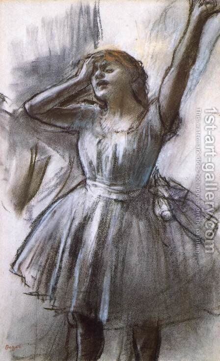 Tired Dancer by Edgar Degas - Reproduction Oil Painting
