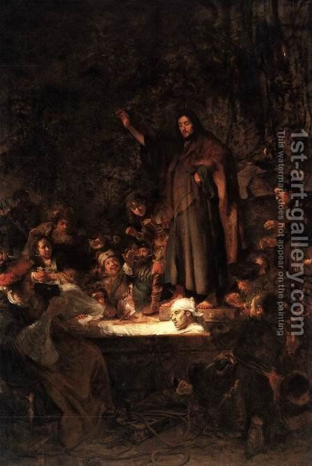 The Raising of Lazarus by Carel Fabritius - Reproduction Oil Painting