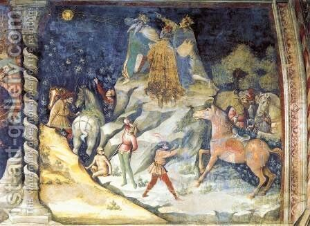 The Appearance of the Star by Giovanni Da Modena - Reproduction Oil Painting