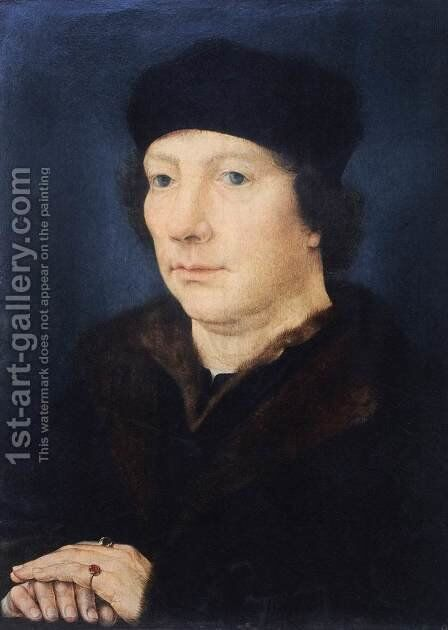 Jean Carondelet by Jan (Mabuse) Gossaert - Reproduction Oil Painting