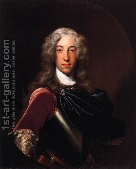 Portrait of Adam Philipp, Count Losy von Losymthal by Jan Kupecky - Reproduction Oil Painting