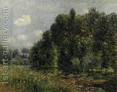 Banks of the Seine by Gustave Loiseau - Reproduction Oil Painting