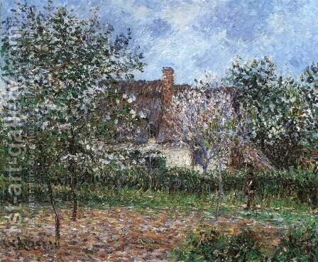 Orchard in Spring by Gustave Loiseau - Reproduction Oil Painting