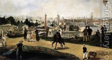 The World Fair of 1867 in Paris by Edouard Manet - Reproduction Oil Painting
