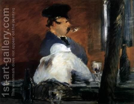The Inn (La Guinguette) by Edouard Manet - Reproduction Oil Painting