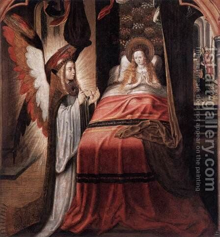 Dream of St Ursula by Master of the Legend of St. Ursula - Reproduction Oil Painting