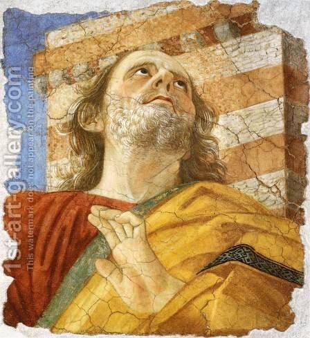 Apostle by Melozzo da Forli - Reproduction Oil Painting