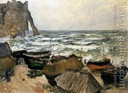 Fishing Boats 2 by Claude Oscar Monet - Reproduction Oil Painting