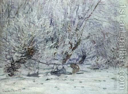 Frost 2 by Claude Oscar Monet - Reproduction Oil Painting